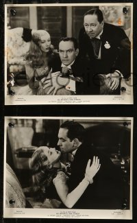 7p0008 I MARRIED A WITCH 9 Italian 8.25x10.5 stills R1950s different images of Veronica Lake & March!