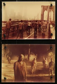 7p0006 ZOMBIE 15 color Dutch 8x11 stills 1980 Lucio Fulci, gory images of zombies terrorizing people!