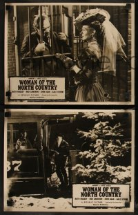 7p0012 WOMAN OF THE NORTH COUNTRY 5 Aust LCs 1952 Ruth Hussey was mistress of the Northwest Frontier!