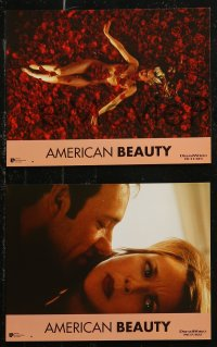7p0036 AMERICAN BEAUTY 12 French LCs 1999 Kevin Spacey, Annette Benning, Mena Suvari, Thora Birch!