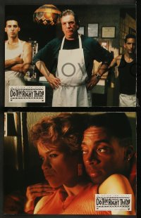 7p0043 DO THE RIGHT THING 12 French LCs 1989 Spike Lee, Danny Aiello, Ossie Davis & Ruby Dee!