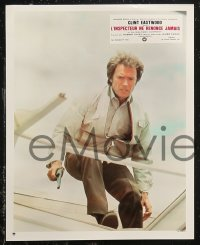7p0032 ENFORCER 17 French LCs 1977 Clint Eastwood as Dirty Harry, Tyne Daly!