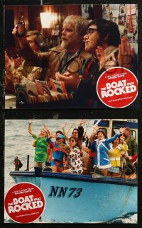 7p0015 PIRATE RADIO 8 non-U.S. LCs 2009 Richard Curtis' The Boat That Rocked, wacky images!