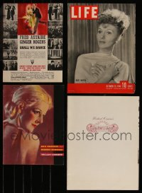 7s0014 LOT OF 7 MISCELLANEOUS ITEMS 1930s-1980s a variety of great movie images & more!