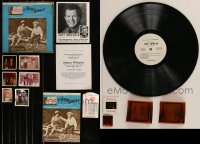 7s0012 LOT OF 15 JOHNNY WHITAKER TOM SAWYER ITEMS 1970s record album signed by two, photos & more!
