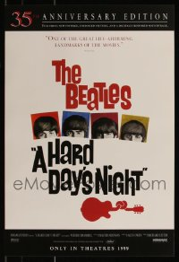 7s0019 LOT OF 166 UNFOLDED R99 HARD DAY'S NIGHT 14X20 MINI POSTERS R1999 The Beatles classic!