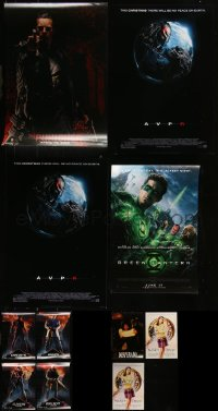 7s0021 LOT OF 11 UNFOLDED MINI POSTERS 2000s-2010s a variety of cool movie images!
