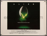 7t0374 ALIEN 1/2sh 1979 Ridley Scott outer space sci-fi monster classic, cool egg image
