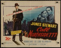 7t0382 CALL NORTHSIDE 777 1/2sh 1948 James Stewart stood alone against a city's violence!