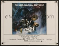 7t0400 EMPIRE STRIKES BACK int'l 1/2sh 1980 classic Gone With The Wind style art by Kastel!