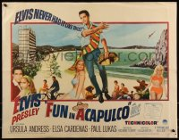 7t0406 FUN IN ACAPULCO 1/2sh 1963 Elvis Presley in fabulous Mexico, sexy Ursula Andress!