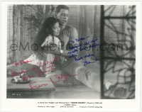 7w1046 SOUTH PACIFIC signed 8x10 REPRO still 1980s by BOTH France Nuyen AND John Kerr!