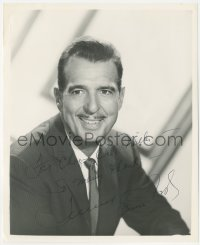 7w1054 TENNESSEE ERNIE FORD signed 8.25x10 REPRO 1970s the country singer smiling in suit & tie!
