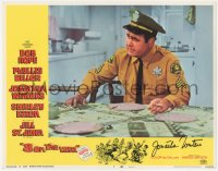 7w0081 8 ON THE LAM signed LC #7 1967 by Jonathan Winters, great close up smoking in uniform!