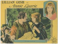 7w0086 ANNIE LAURIE signed LC 1927 by Lillian Gish, who's romanced by her enemy Norman Kerry!