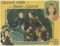 7w0087 ANNIE LAURIE signed LC 1927 by Lillian Gish, who's warning Creighton Hale about danger ahead!
