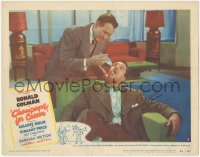 7w0097 CHAMPAGNE FOR CAESAR signed LC #7 1950 by Vincent Price, who's taking a LOT of pills!