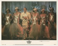 7w0100 COTTON CLUB signed LC #3 1984 by Gregory Hines, who's on stage with sexy ladies, Coppola!