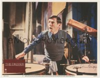 7w0103 DRESSER signed LC #7 1985 by Tom Courtenay, who's playing the drums, nominated for Best Actor!