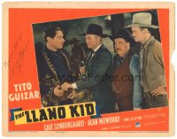 7w0112 LLANO KID signed LC 1939 by Tito Guizar, from O. Henry's short story!