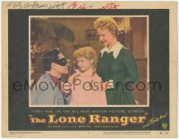 7w0113 LONE RANGER signed LC #2 1956 by Clayton Moore, who's w/ Bonita Granville & Beverly Washburn!