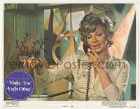 7w0114 MADE FOR EACH OTHER signed LC #7 1971 by Renee Taylor, who's close up on phone & cooking!
