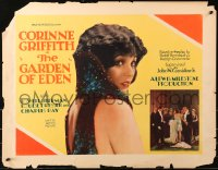 7x0020 GARDEN OF EDEN yellow style 1/2sh 1928 full-length & close up image of sexy Corinne Griffith!