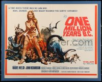 7x0023 ONE MILLION YEARS B.C. 1/2sh 1967 sexiest prehistoric cave woman Raquel Welch by Thurston!