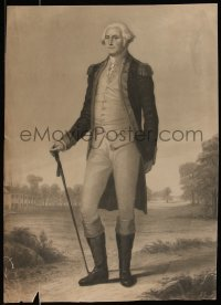 7x0026 GEORGE WASHINGTON 16x22 art print 1890s cool full-length portrait of the first President!