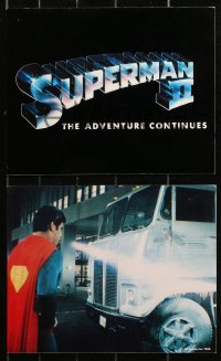 7x0039 SUPERMAN II 15 color English from 8x10 to 20x30 stills 1981 Christopher Reeve, Stamp, Kidder!
