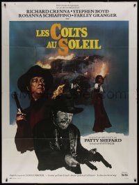 7y1085 MAN CALLED NOON French 1p 1974 Louis L'Amour, gunfighter Richard Crenna gets revenge!