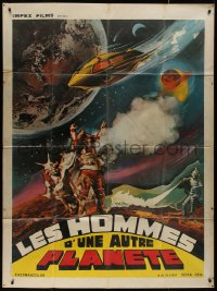 7y1091 MARS MEN French 1p 1977 Hung Min Chen, Thai/Japanese sci-fi/fantasy movie, cool art, rare!