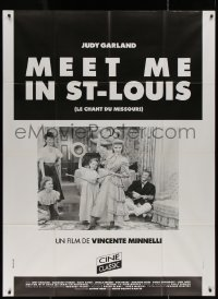7y1096 MEET ME IN ST. LOUIS French 1p R2000s Judy Garland, Margaret O'Brien, classic musical!