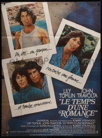 7y1104 MOMENT BY MOMENT French 1p 1979 different photo montage of Lily Tomlin & John Travolta!
