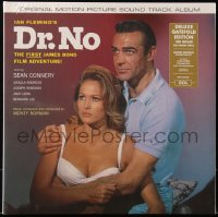 7y0097 DR. NO 33 1/3 RM soundtrack record 2013 Sean Connery as James Bond & sexy Ursula Andress!