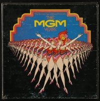 7y0101 MGM YEARS 33 1/3 RPM compilation record set 1973 songs from The Golden Age of Musicals!