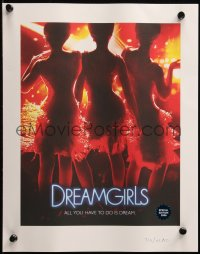 7y0081 DREAMGIRLS #713/41800 11x14 art print 2006 Jamie Foxx, Beyonce, based on the the Supremes!