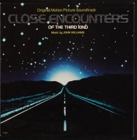 7y0096 CLOSE ENCOUNTERS OF THE THIRD KIND soundtrack record 1977 includes complimentary 45RPM single!