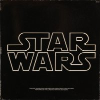7y0103 STAR WARS soundtrack record 1977 George Lucas classic sci-fi epic!