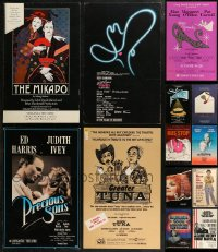 7z0035 LOT OF 13 STAGE WINDOW CARDS 1980s great images from a variety of different shows!