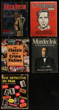 7z0655 LOT OF 5 DETECTIVE/CRIME HARDCOVER BOOKS 1970s-2000s Classic Era of Crime Fiction & more!