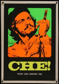 8a0314 CHE Italian 1sh 1969 rare different art of Omar Sharif as Guevara by Nistri!