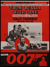 8a0299 FROM RUSSIA WITH LOVE Swiss R1970s Sean Connery is the unkillable James Bond 007, different!