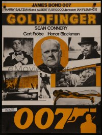 8a0300 GOLDFINGER Swiss R1970s cool different image of Sean Connery as James Bond 007!
