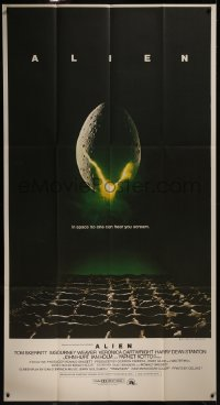 8d0021 ALIEN 3sh 1979 Ridley Scott outer space sci-fi monster classic, cool hatching egg image!