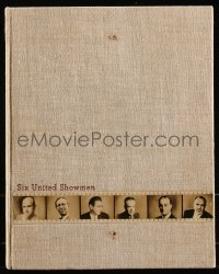 8d0116 UNITED ARTISTS 1938-39 campaign book 1938 Thief of Bagdad, Wuthering Heights & more!