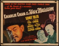 8d0085 CHARLIE CHAN AT THE WAX MUSEUM 1/2sh 1940 Asian detective Sidney Toler, Sen Yung, ultra rare!