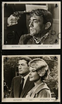 8g0006 MIRAGE 34 8x10 stills 1965 Edward Dmytryk directed, Gregory Peck, pretty Diane Baker!