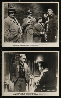 8g0016 REQUIEM FOR A HEAVYWEIGHT 28 8x10 stills 1962 Anthony Quinn, Jackie Gleason, Rooney, boxing!