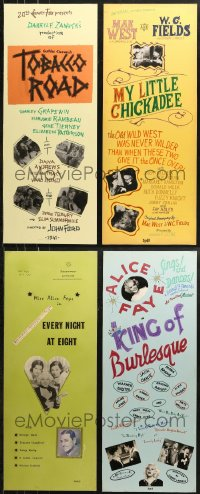 8h0007 LOT OF 9 LOCAL THEATER HOMEMADE INSERTS 1970s great images from a variety of movies!